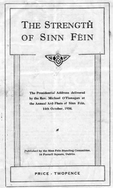 The Strength of Sinn Féin