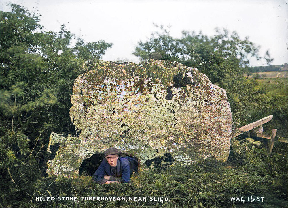 Green's photograph of the Speckled Stone.